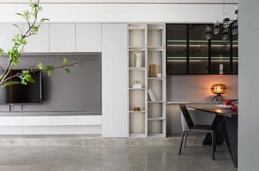 现代风格-雍锦园-四室两厅-110平-装修实景效果图