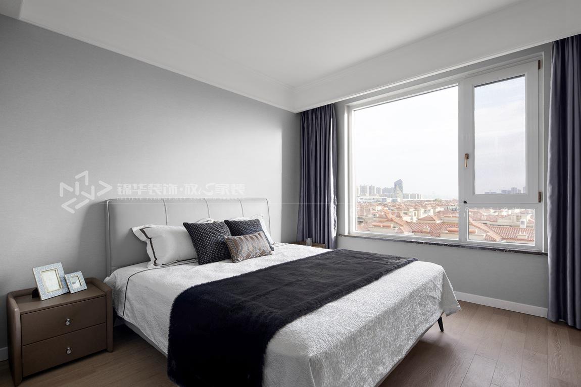 现代风格-华府庄园-四室两厅-148平-卧室-装修实景效果图