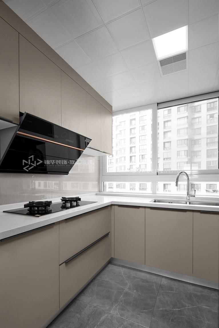 现代风格-华府庄园-四室两厅-148平-厨房-装修实景效果图