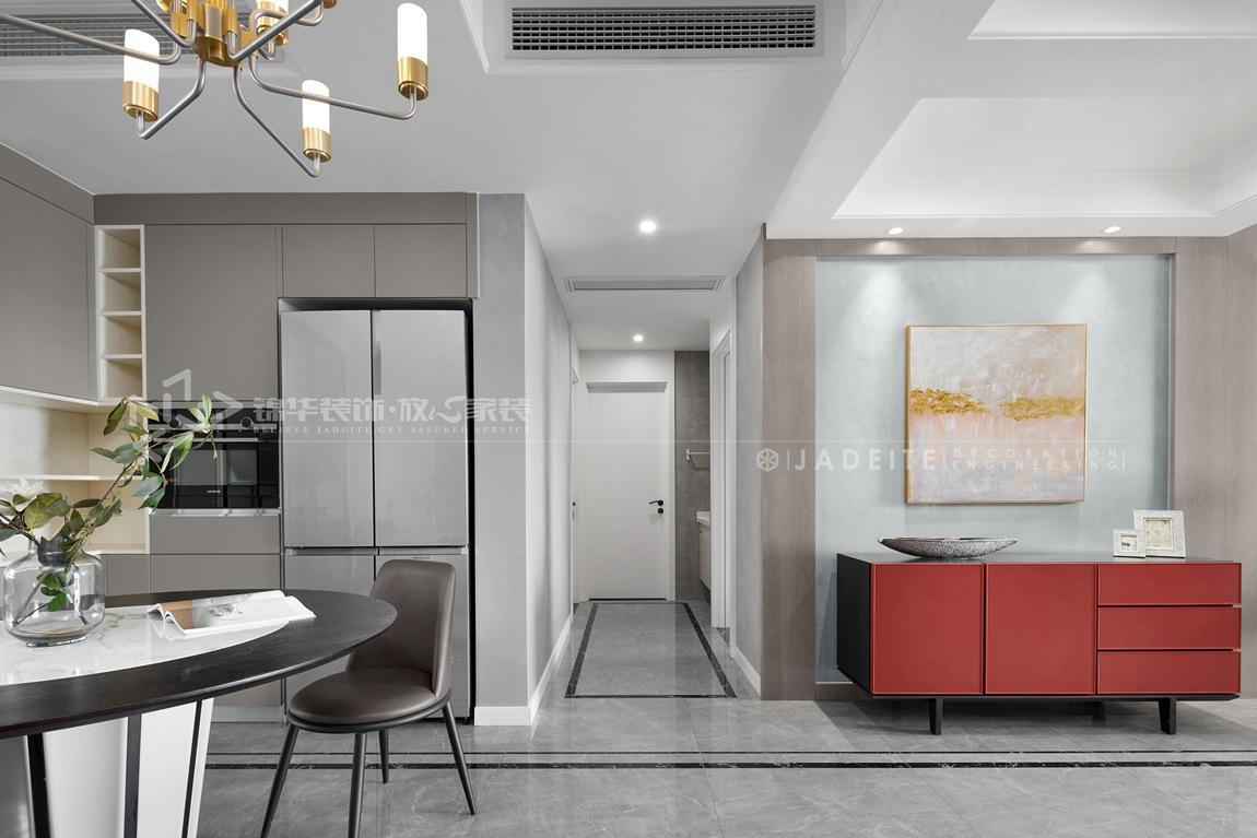 现代风格-华府庄园-四室两厅-148平-餐厅-装修实景效果图