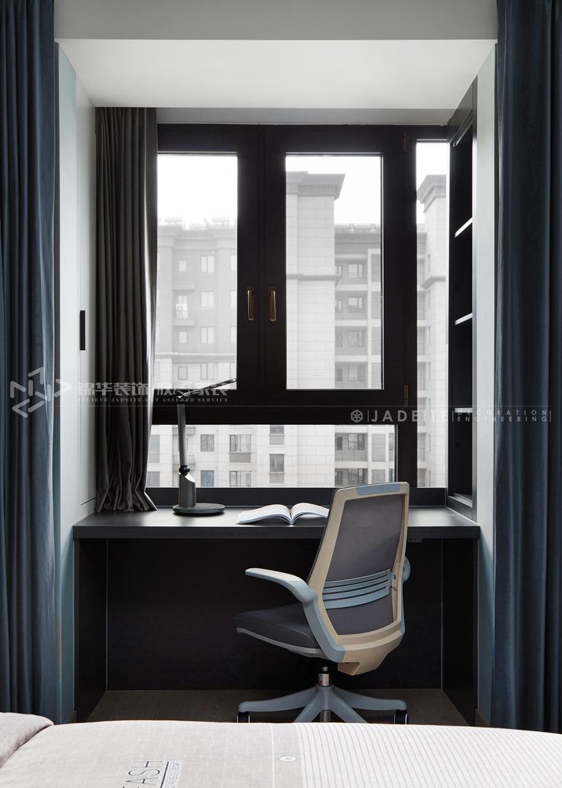 现代风格-太平洋城中城-四室两厅-143平-卧室-装修实景效果图