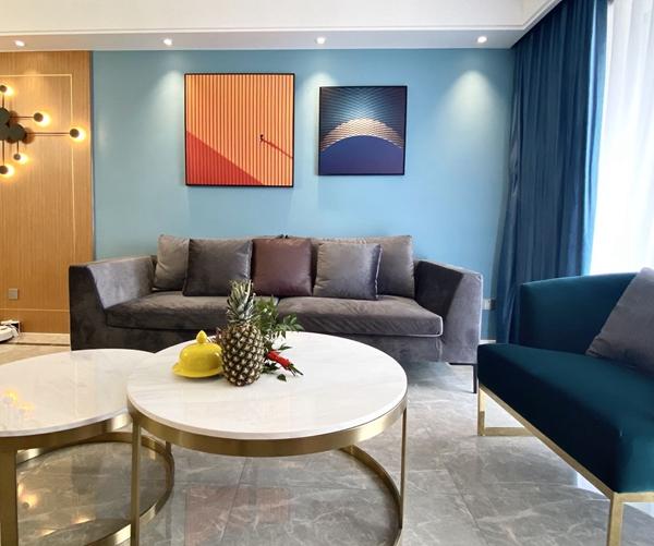 现代风格-协信未来城-三室两厅-118平-装修实景效果图