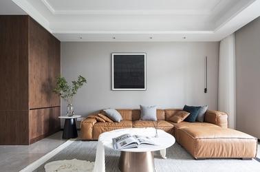 现代风格-万科-四室两厅-140平-装修实景效果图