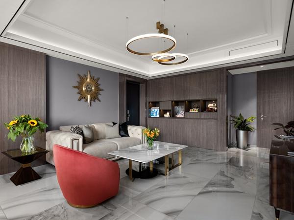 现代轻奢风格-保利达江湾城-大平层-388平-装修实景效果图