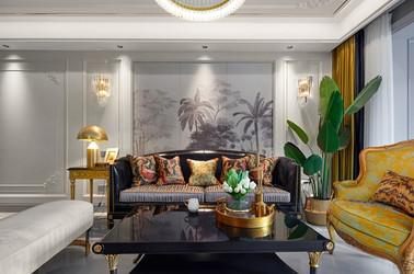 法式轻奢风格-九龙仓碧玺-四室两厅-140平-装修实景效果图