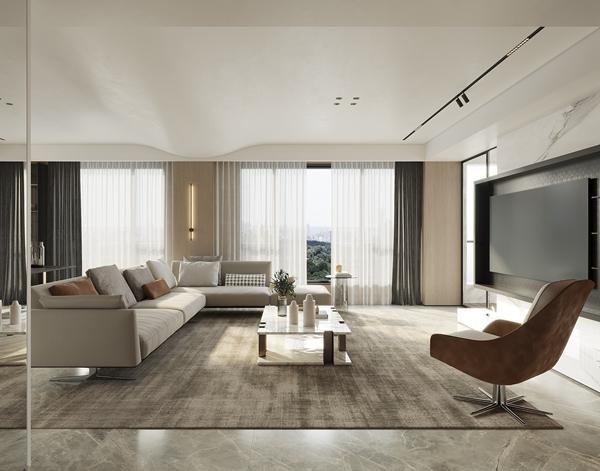 现代风格-长泰国际-大平层-300平-装修效果图