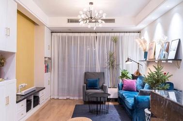 北欧风格-朗诗太湖绿郡-三室两厅-102平-装修实景效果图