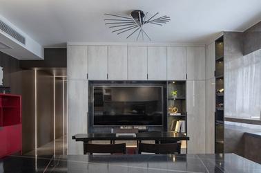 现代风格-家乐苑-三室两厅-130平-装修实景效果图