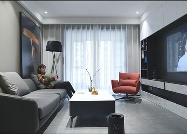 天渝骄园107平现代简约风格全案整装实景样板间视频