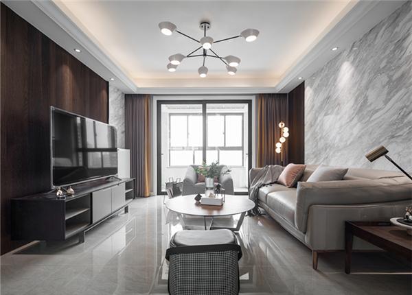 现代简约-凤凰城-四室两厅-140平-改造实景效果图