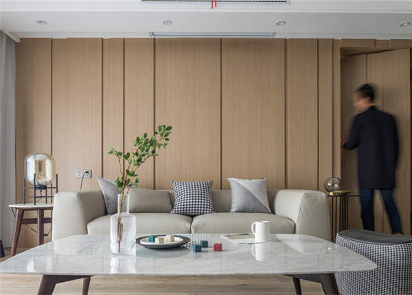 混搭-融创熙园-三室两厅-140平-改造实景效果图