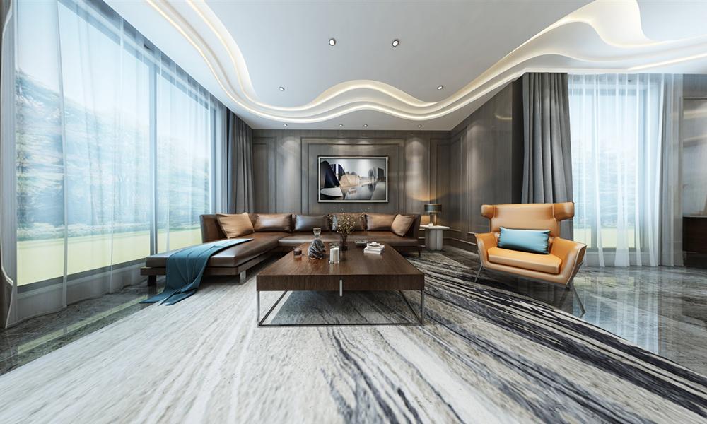 现代风格-东湖公馆-别墅-500平-装修效果图