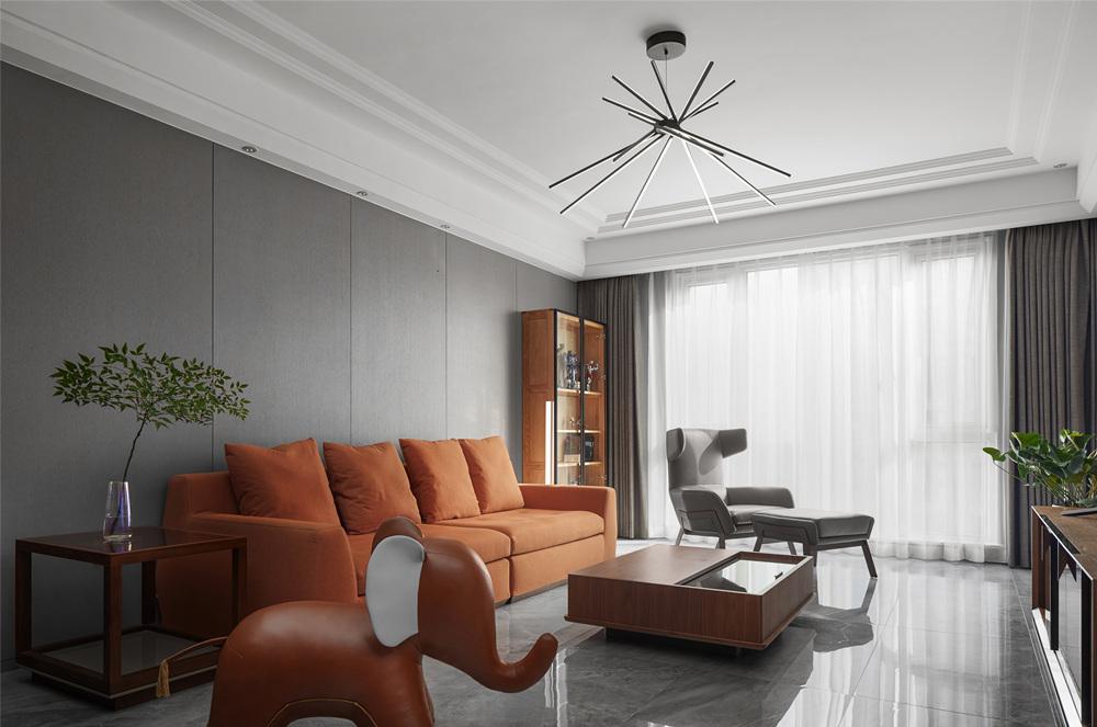 现代风格-玉兰花园-大平层-179平-装修实景效果图