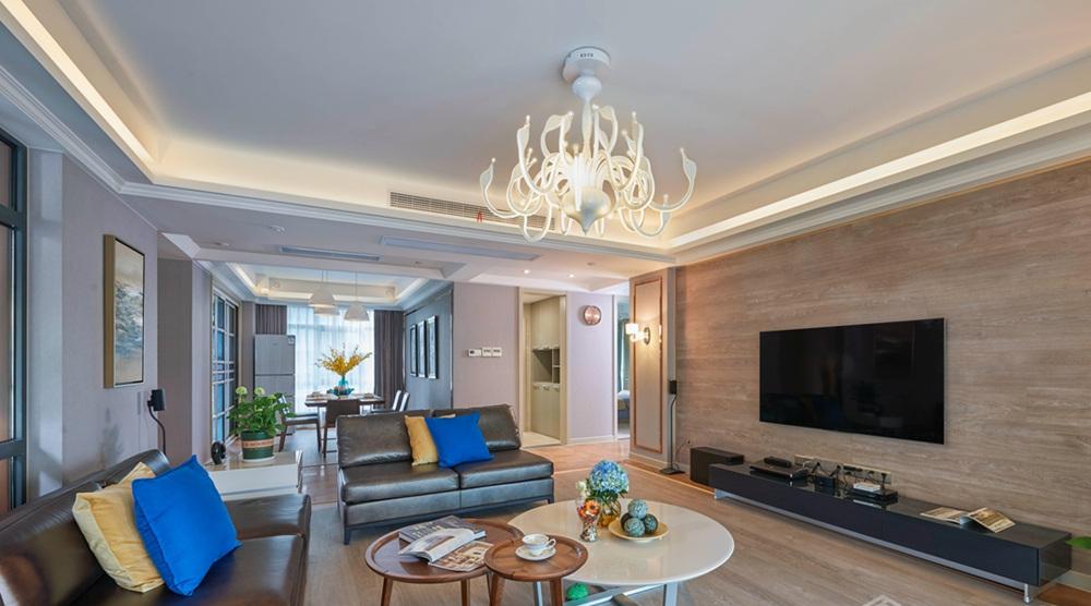现代简约-世贸中心-四室两厅-230平-装修效果实景图