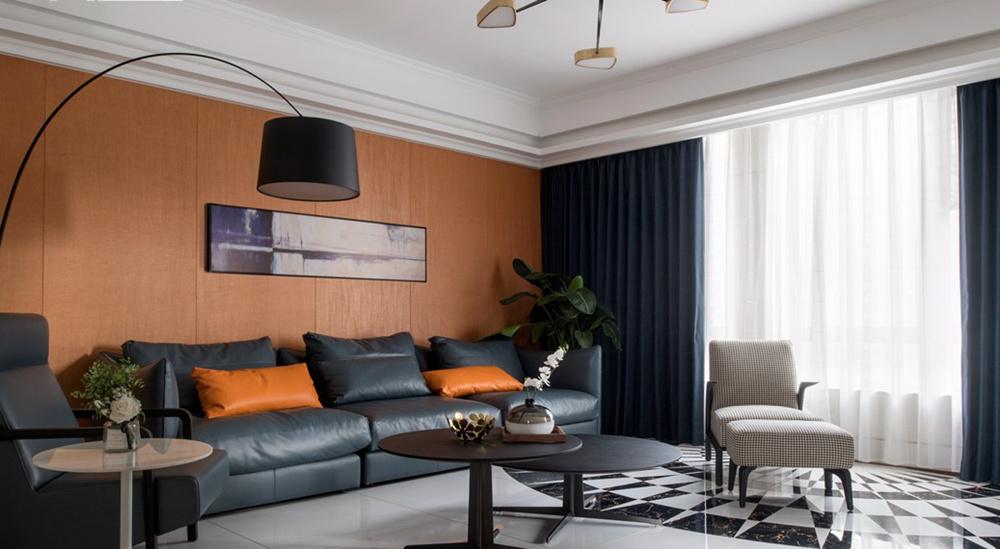 现代轻奢-天安曼哈顿-大户型-182平-装修效果实景图