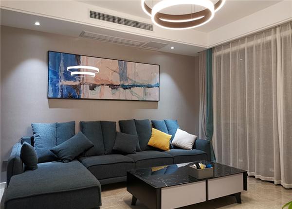 现代简约-绿城玉兰花园-三室两厅-142平-装修实景效果图