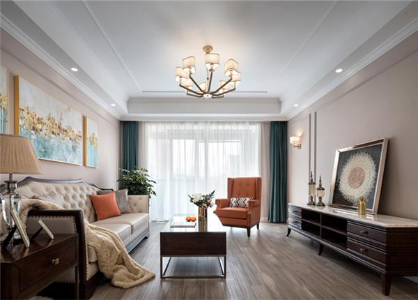 现代简美-康诗丹郡-三室两厅-130平-装修实景效果图