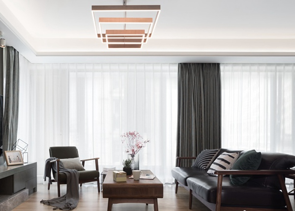 现代风格-玉兰花园-四室两厅-177平-装修实景效果图