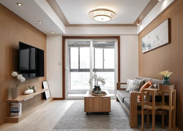 日式风格-九龙仓御玺-两室两厅-89平-装修实景效果图