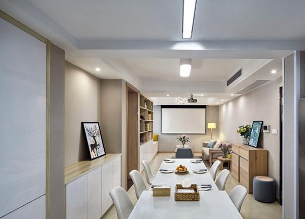 日式MUJI风格-尚锦城-两室两厅-106平-装修实景效果图
