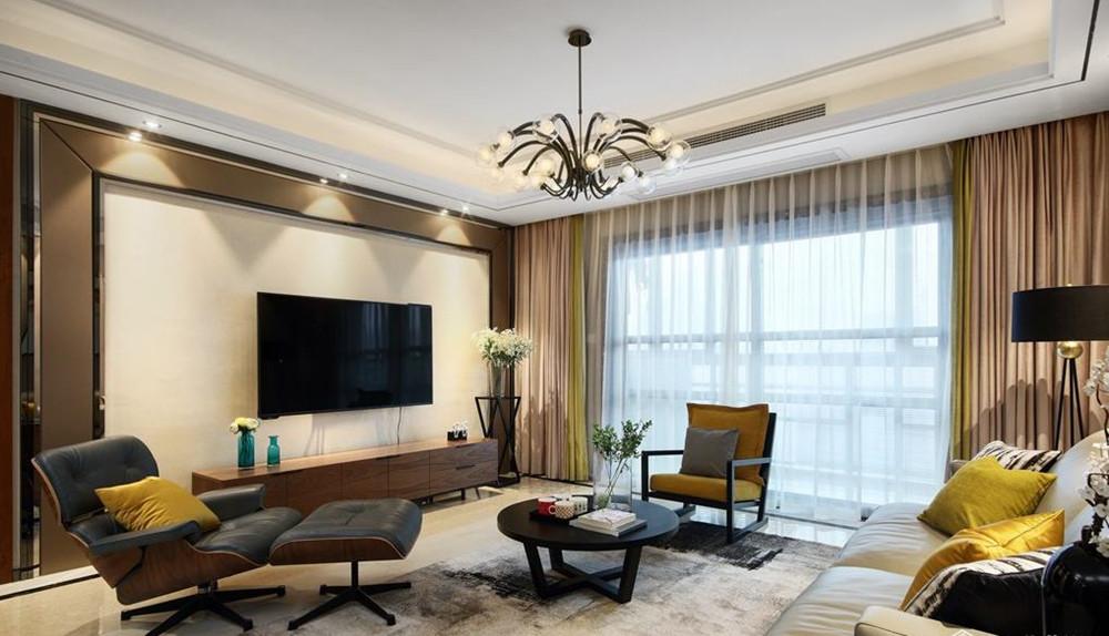 现代风格-京梁合-四室两厅-180平-装修实景效果图