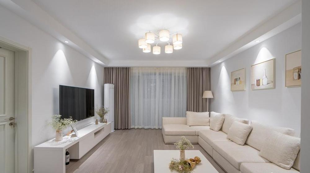 北欧风格-中海凤凰熙岸-三室两厅-128平-装修实景效果图