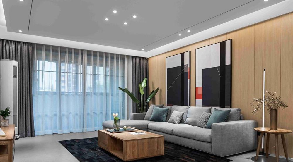 现代风格-中海凤凰熙岸-三室两厅两卫-125平-装修效果实景图