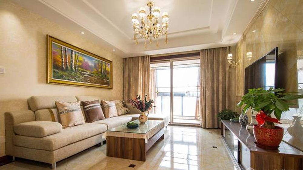 现代简约风格-繁华里-两室两厅-118平-装修实景效果图