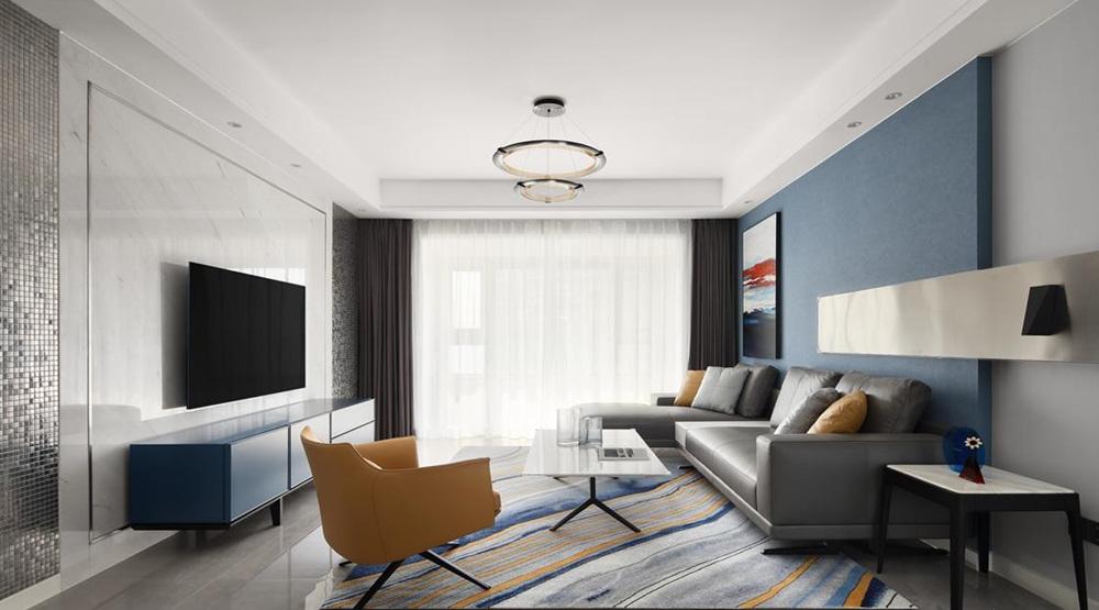 现代简约-太湖国际-四室两厅-160平-装修效果实景图