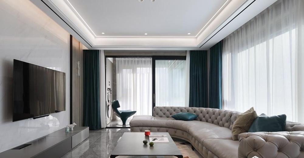 现代轻奢-玉兰花园-四室两厅-166平-装修实景效果图