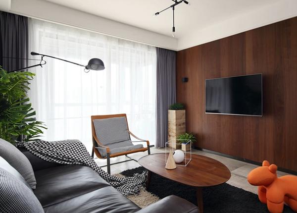 简约风格-华润橡树湾-三室两厅-113平-装修效果实景图