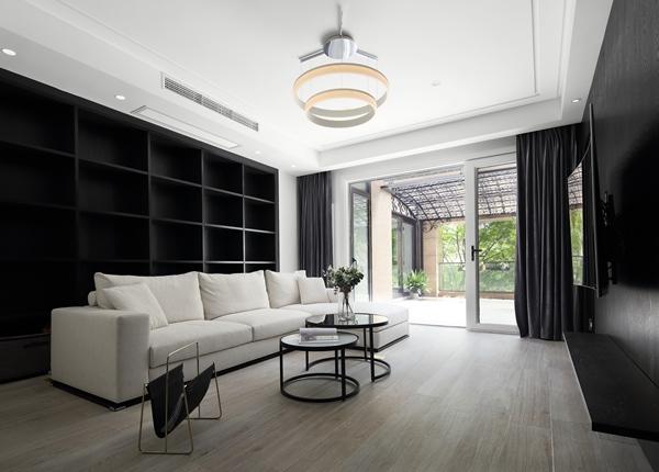 现代简约-玉兰花园-四室两厅-170平-装修效果实景图