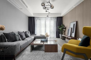 现代简约-九龙仓碧玺-三室一厅-120平-装修效果实景图