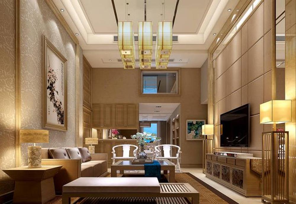 简中风格-国信世家-四室两厅-200平-装修效果图
