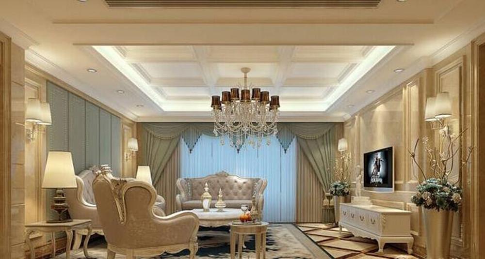 后现代奢华风格-花样年花郡-四室两厅-188平-装修效果图