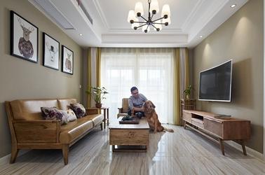 北欧风格-小天鹅乐园-三室一厅-89平米-装修效果实景图