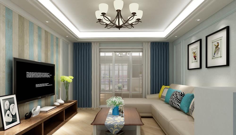 简美风格-雪新苑-四室两厅-160平-装修效果图