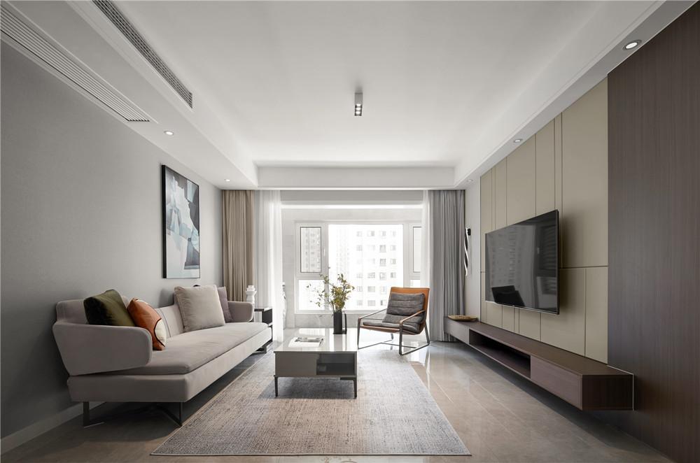 现代简约风格-九龙仓碧玺-四室两厅-140平-装修实景效果图