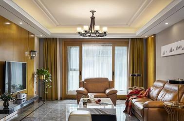 轻奢风格-怡东雅苑-四室两厅-135平-装修效果实景图