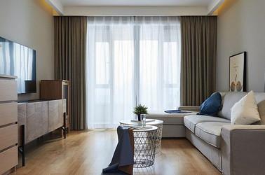 现代风格-太湖国际-两室两厅-80平-装修效果实景图