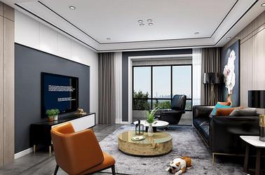 现代风格-蠡湖院子-四室两厅-140平-装修效果图