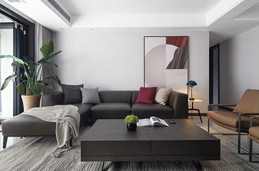 现代简约-九龙仓御玺-四房两厅两卫-159平-装修实景效果图