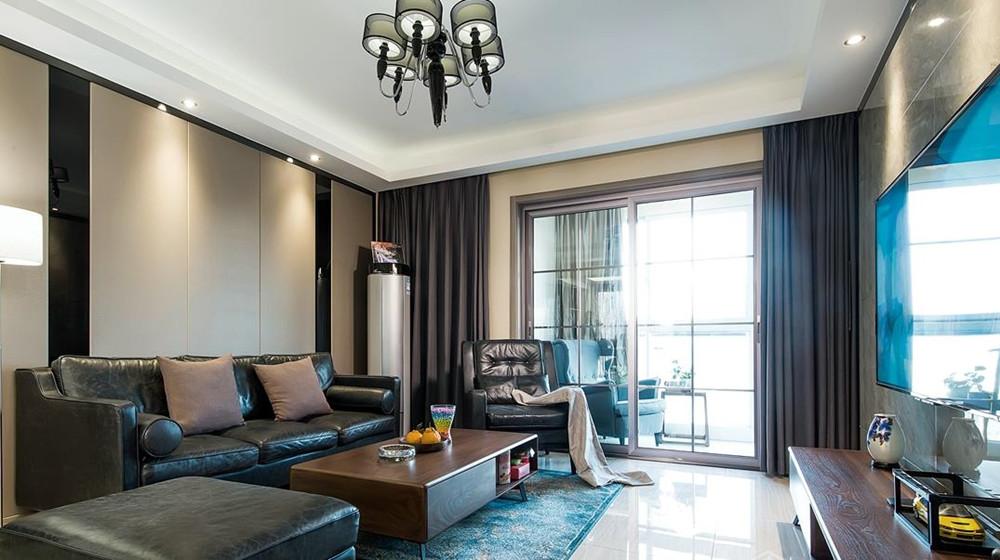 现代简约风格-金科观天下-三室两厅-140平米-装修实景效果图