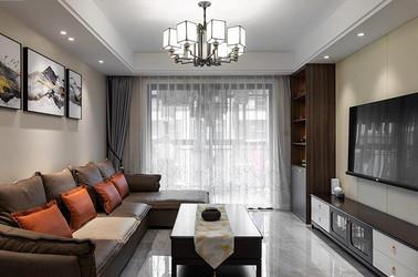 现代中式-祥生郡悦-四室两厅-126平-装修实景效果图