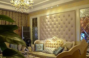 简欧-西水东-三室两厅-120平-装修实景效果图