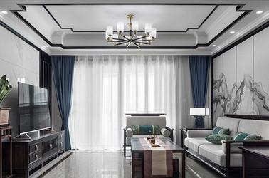 新中式风格-太平洋惠太雅苑-四室两厅-137平-装修实景效果图