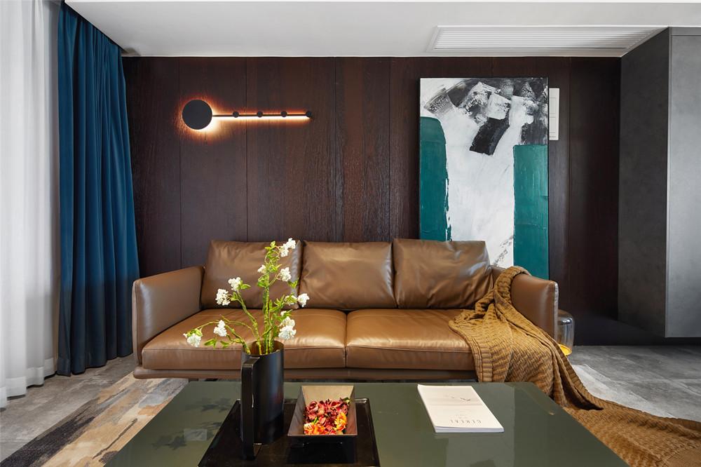 现代风格-玉兰公馆-三室两厅-110平-装修实景效果图