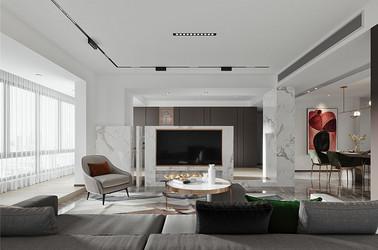 轻奢风格-太湖国际二街区-四室两厅-140平-装修效果图