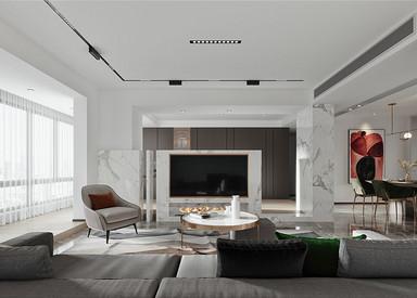 北欧风格-融创东方御园-别墅-180平-装修全景效果图