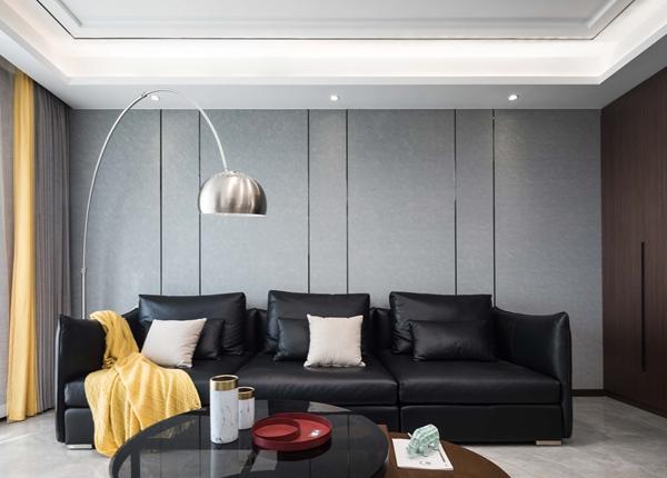 现代简约-百乐和园-三室两厅-138平-装修实景效果图